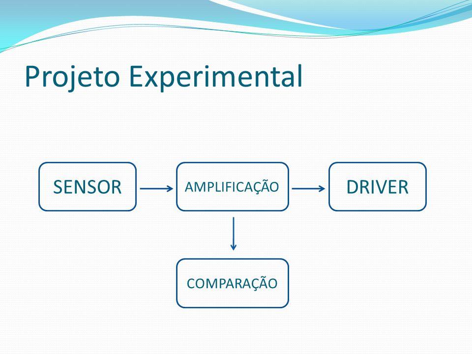 Projeto Experimental SENSOR DRIVER AMPLIFICAÇÃO COMPARAÇÃO