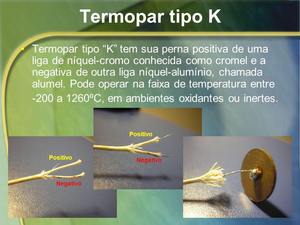 Termopar tipo K