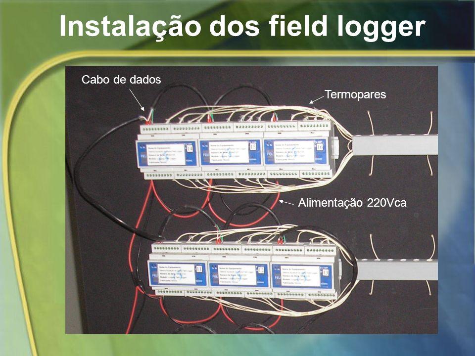 Instalação dos field logger
