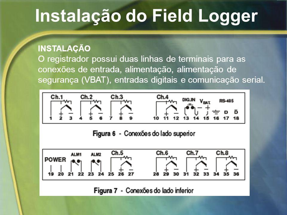 Instalação do Field Logger