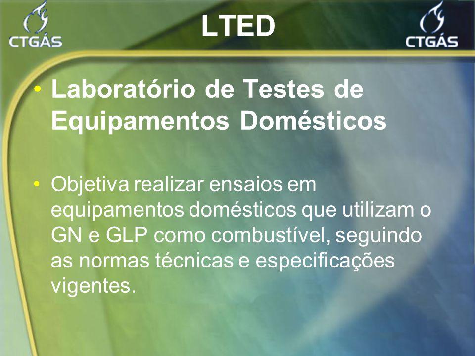 LTED Laboratório de Testes de Equipamentos Domésticos