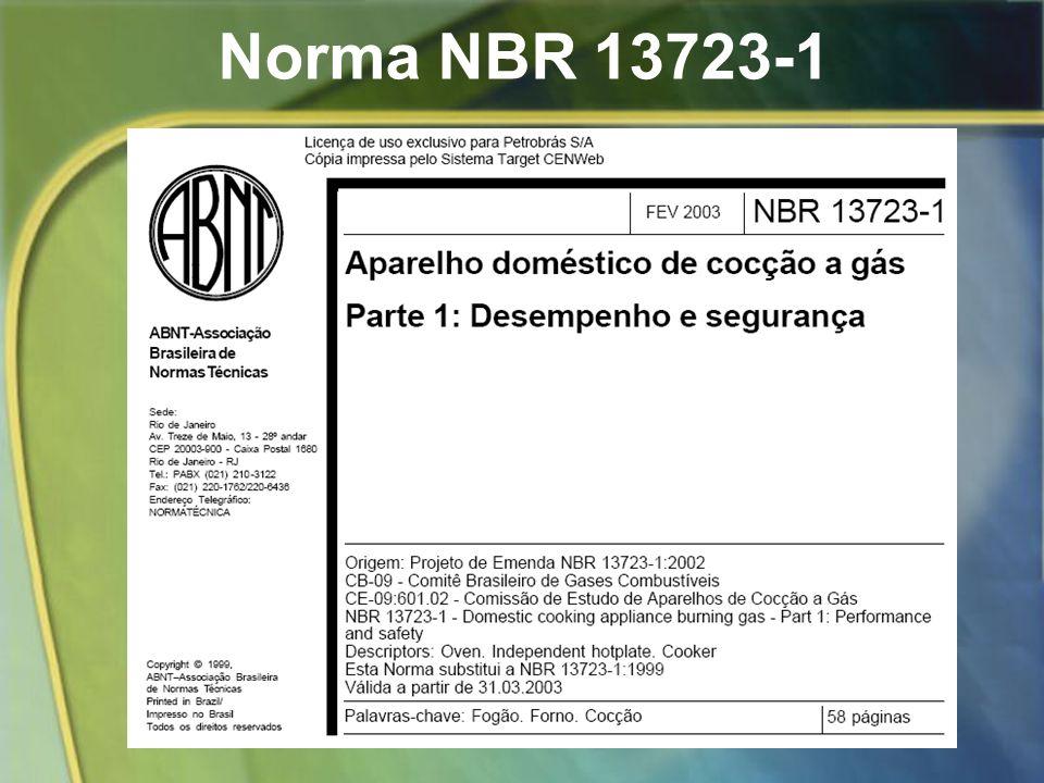 Norma NBR 13723-1