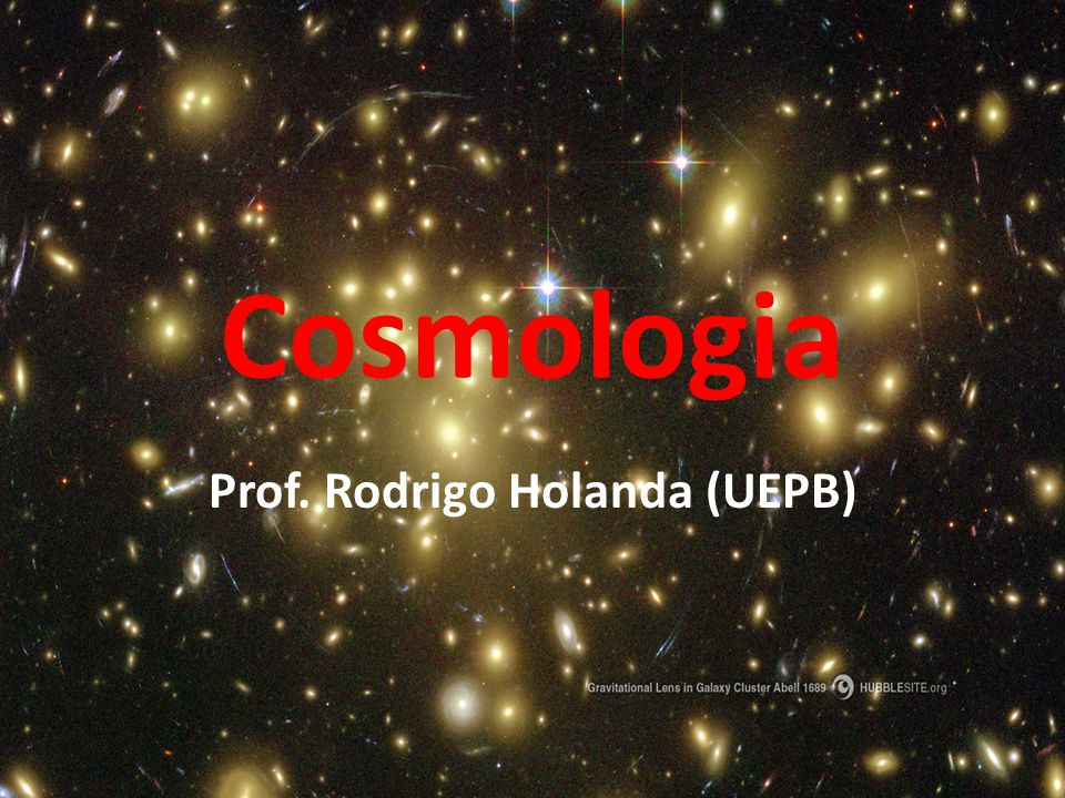 Prof. Rodrigo Holanda (UEPB)