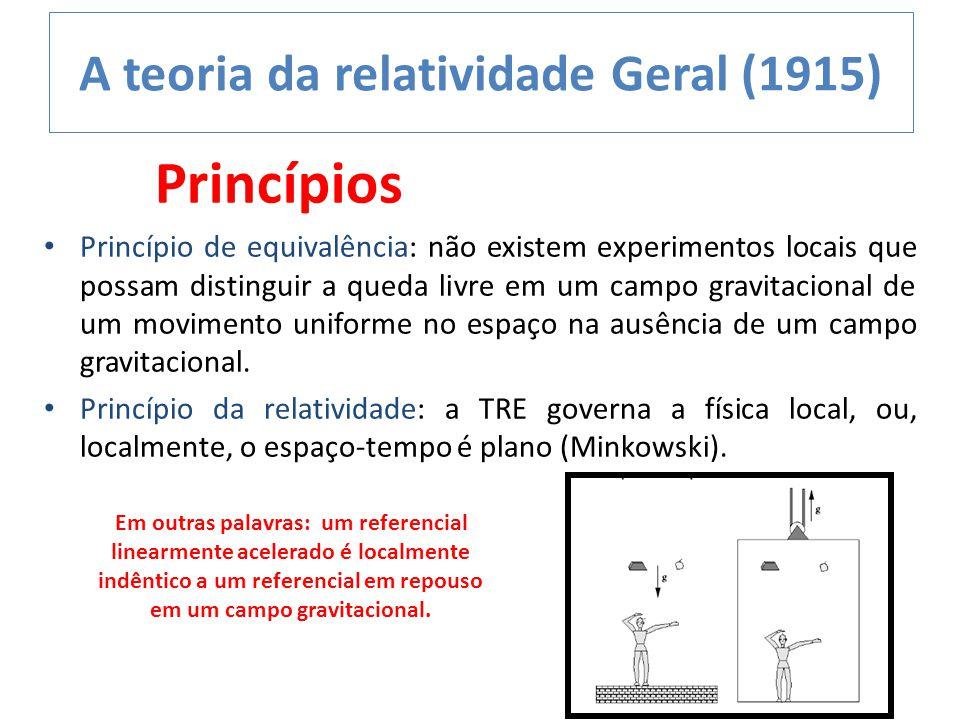 A teoria da relatividade Geral (1915)