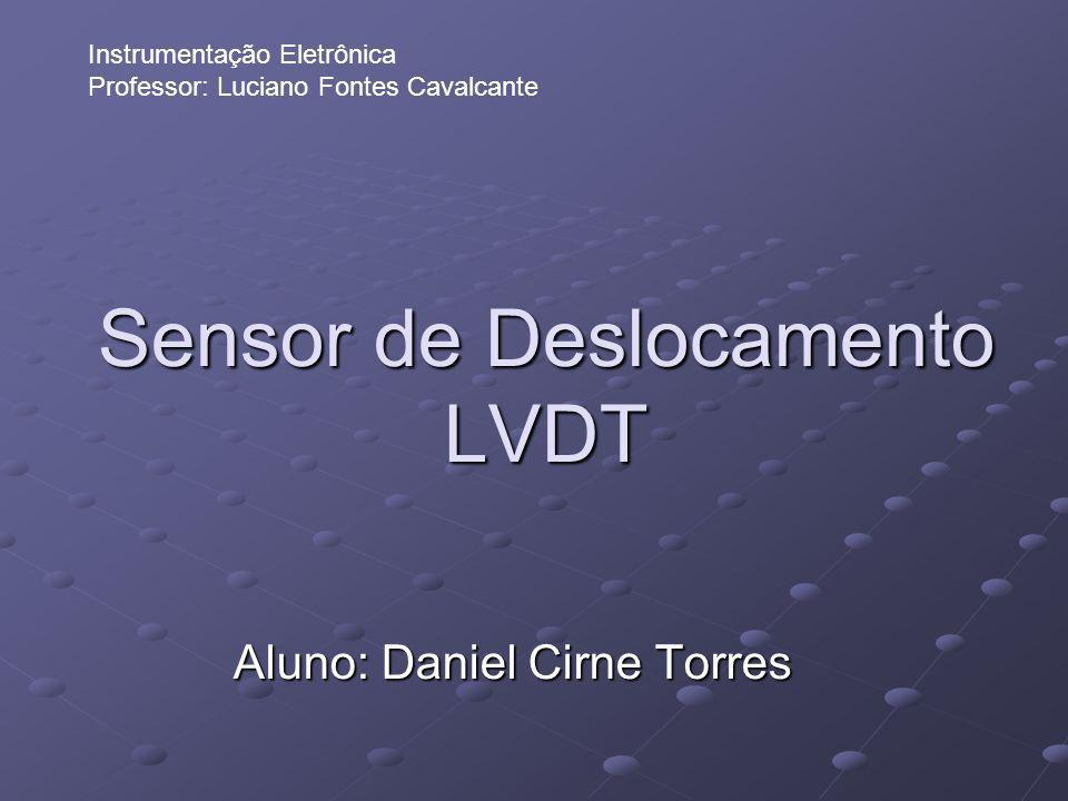Sensor de Deslocamento LVDT