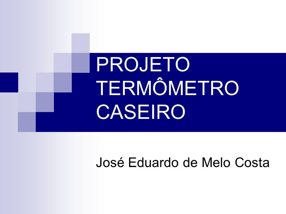 PROJETO TERMÔMETRO CASEIRO