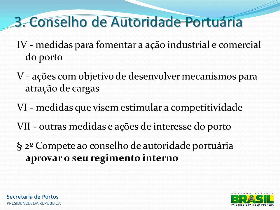 3. Conselho de Autoridade Portuária