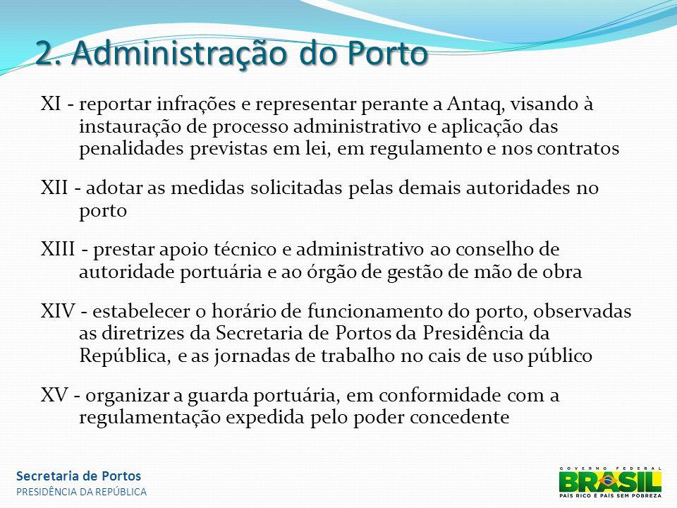 2. Administração do Porto