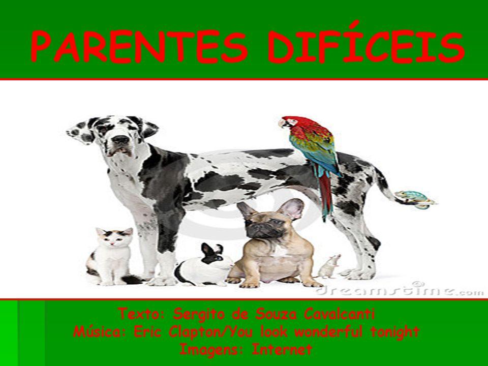 PARENTES DIFÍCEIS Texto: Sergito de Souza Cavalcanti