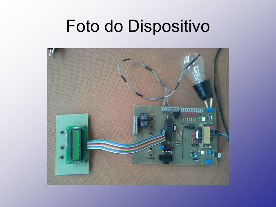 Foto do Dispositivo