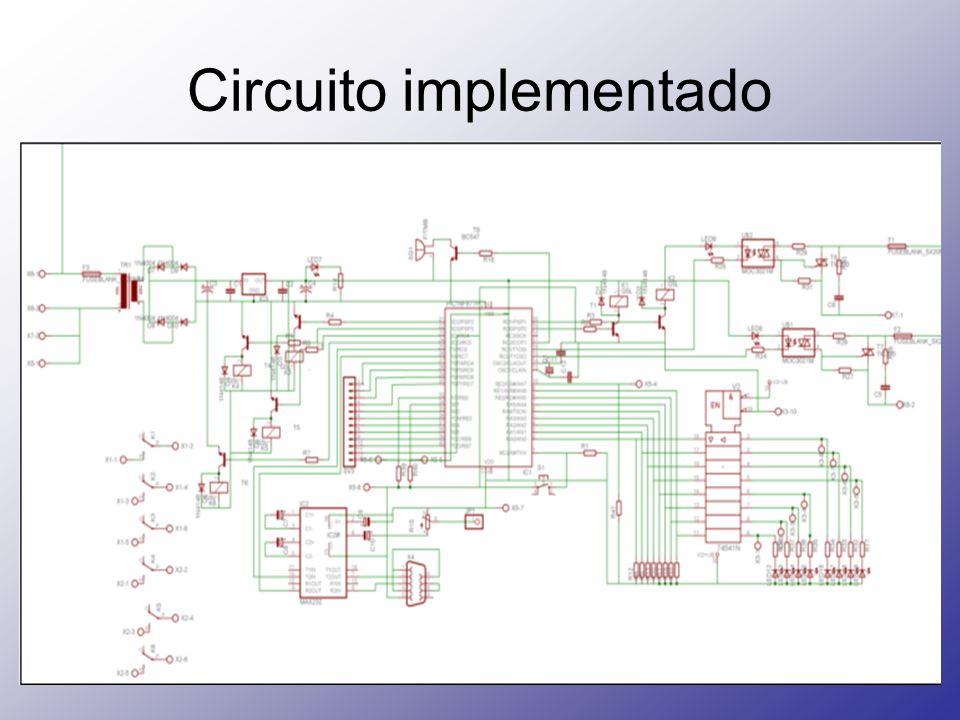 Circuito implementado