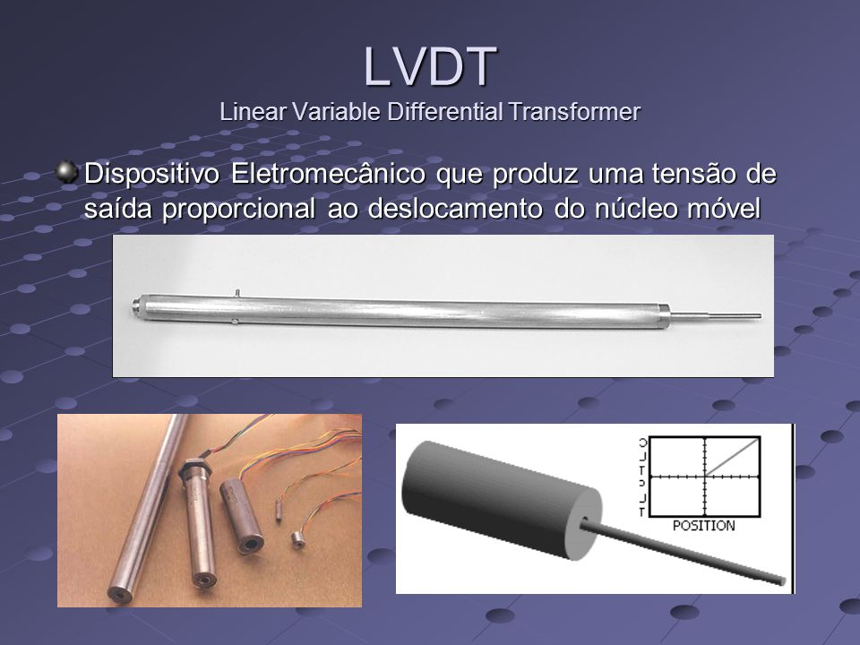 LVDT Linear Variable Differential Transformer