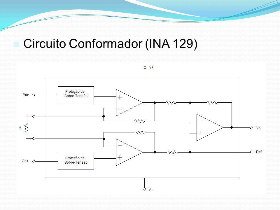 Circuito Conformador (INA 129)