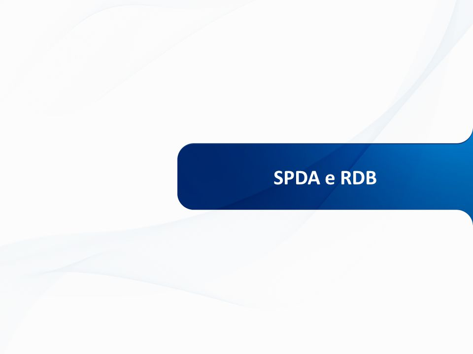 SPDA e RDB