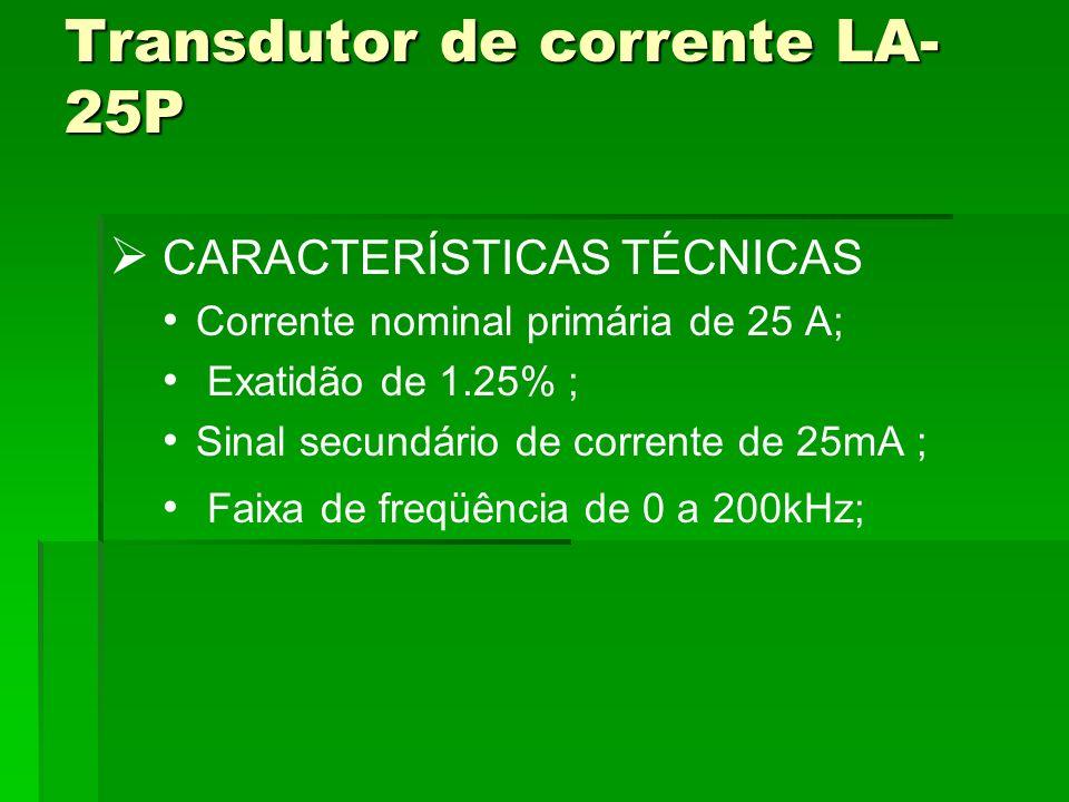 Transdutor de corrente LA-25P