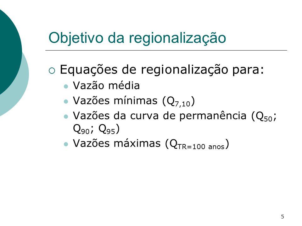 Objetivo da regionalização