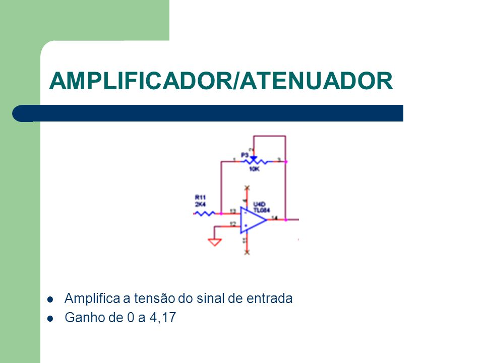 AMPLIFICADOR/ATENUADOR