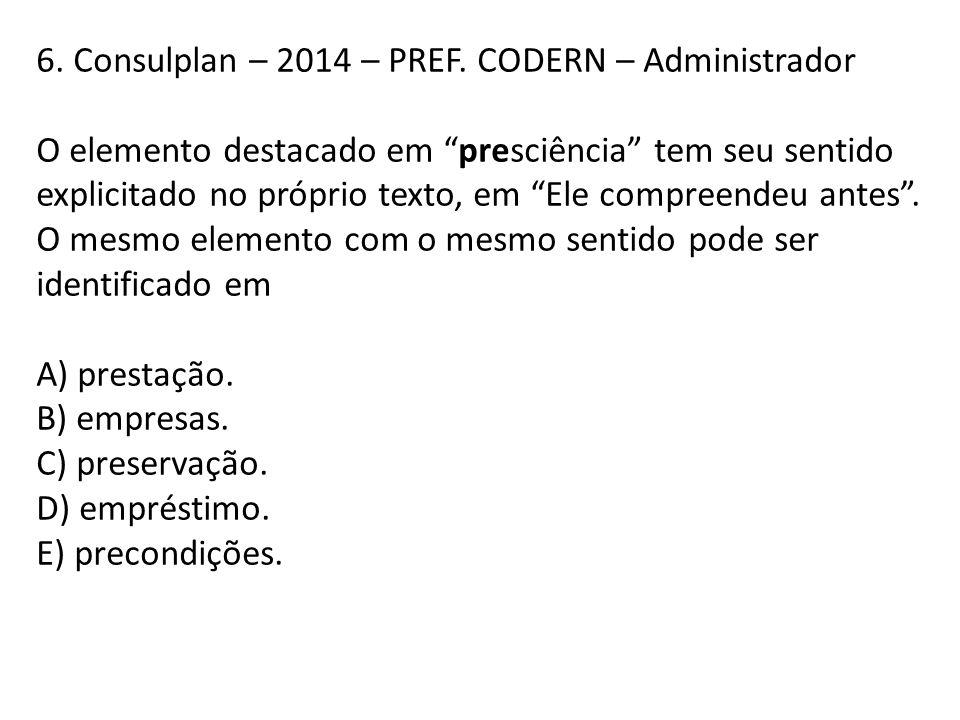 6. Consulplan – 2014 – PREF. CODERN – Administrador