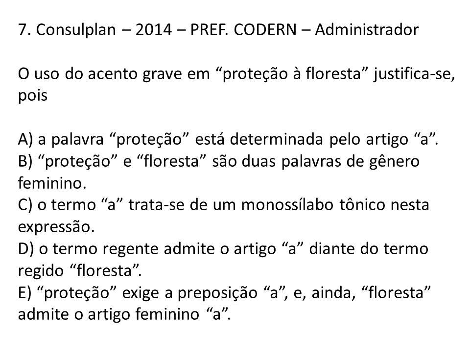 7. Consulplan – 2014 – PREF. CODERN – Administrador