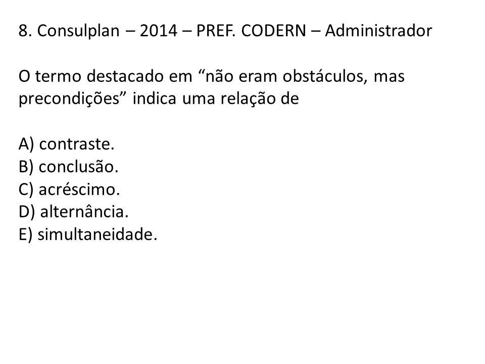 8. Consulplan – 2014 – PREF. CODERN – Administrador