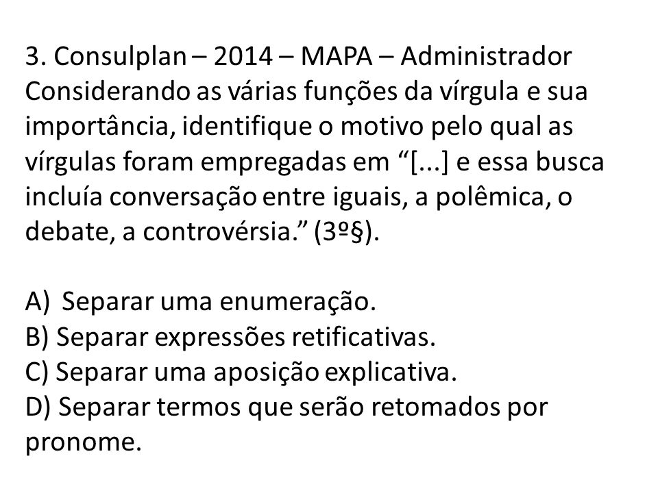 3. Consulplan – 2014 – MAPA – Administrador