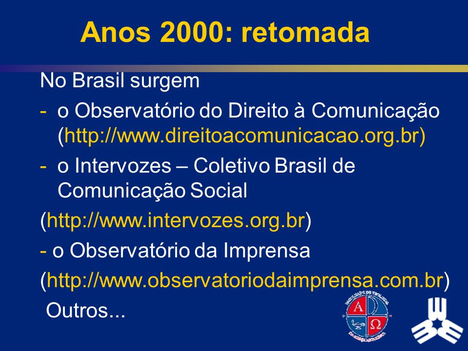 Anos 2000: retomada No Brasil surgem