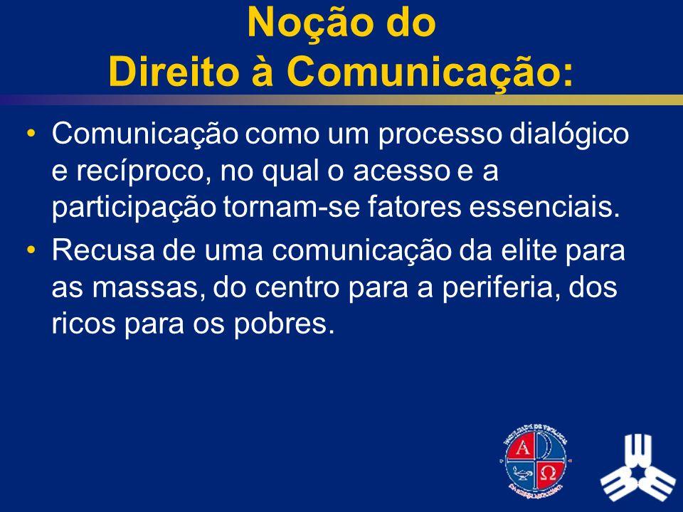 Noção do Direito à Comunicação: