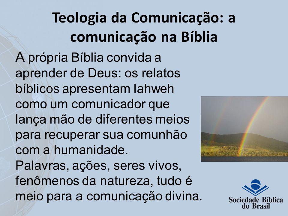 Teologia da Comunicação: a comunicação na Bíblia