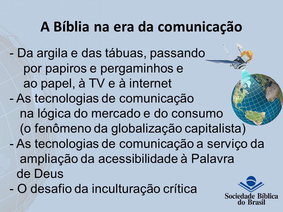 A Bíblia na era da comunicação