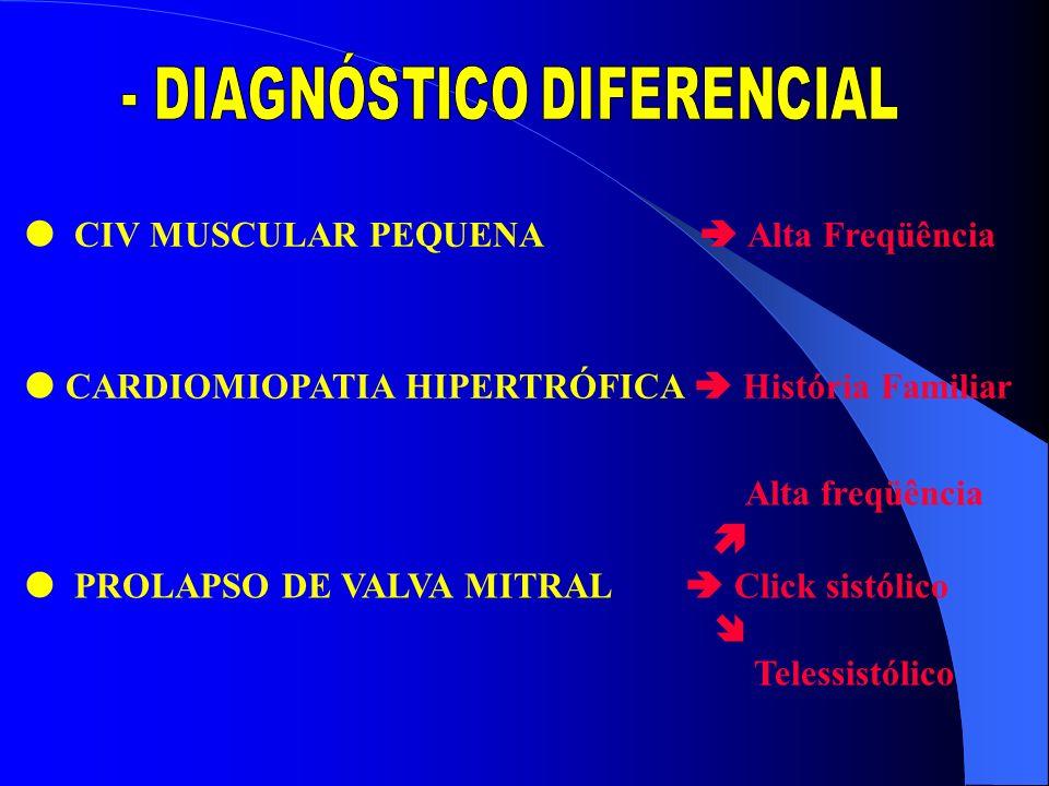 - DIAGNÓSTICO DIFERENCIAL