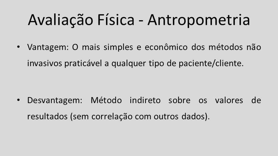 Avaliação Física - Antropometria