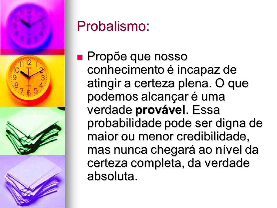 Probalismo: