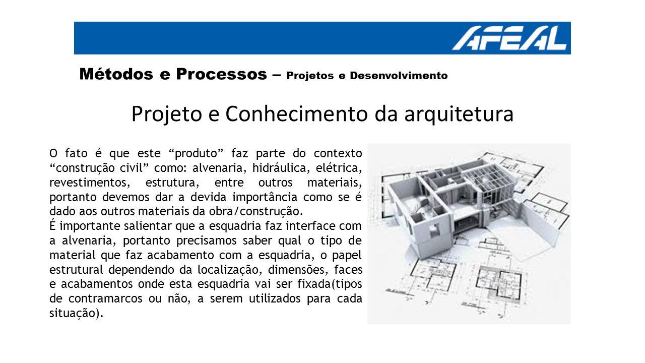 Projeto e Conhecimento da arquitetura
