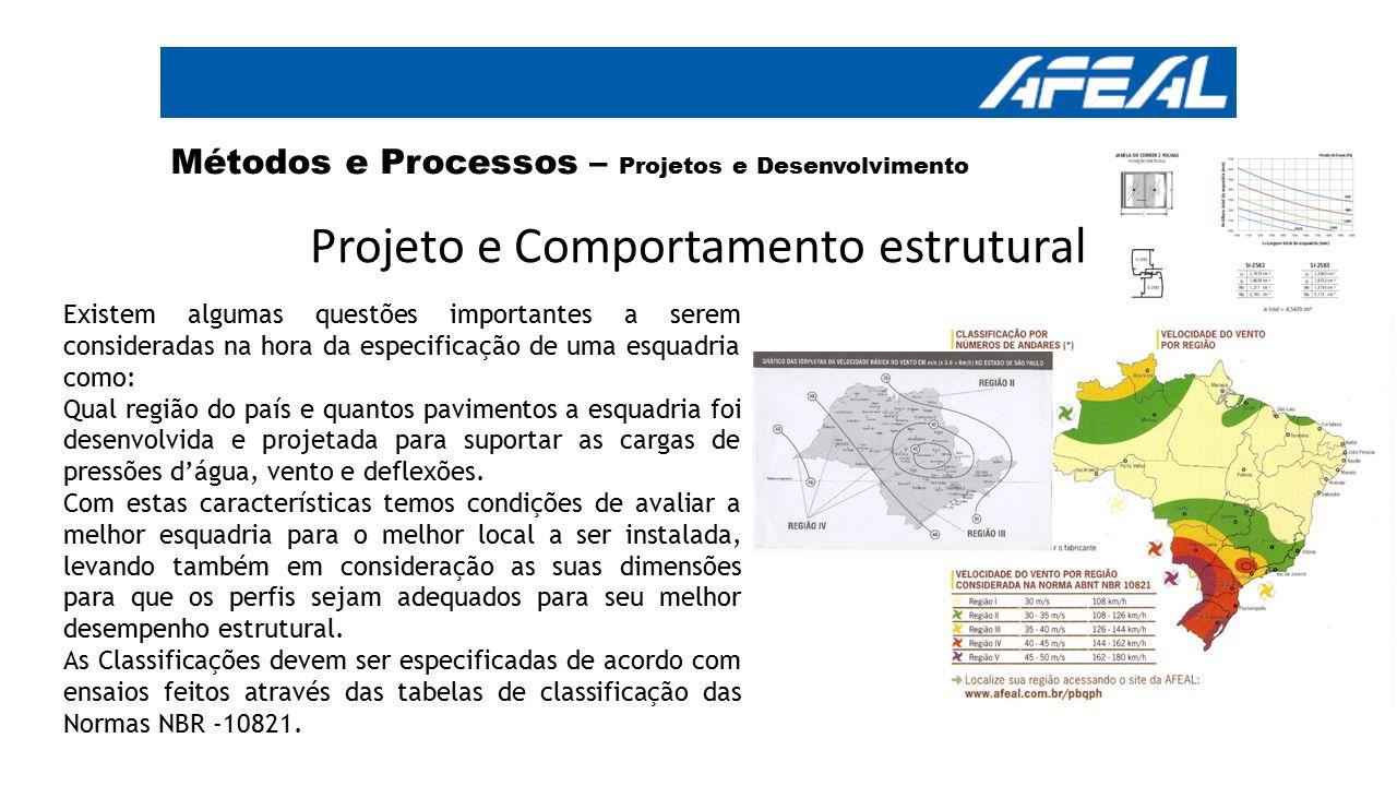 Projeto e Comportamento estrutural