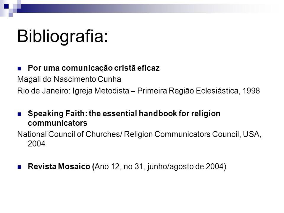 Bibliografia: Por uma comunicação cristã eficaz