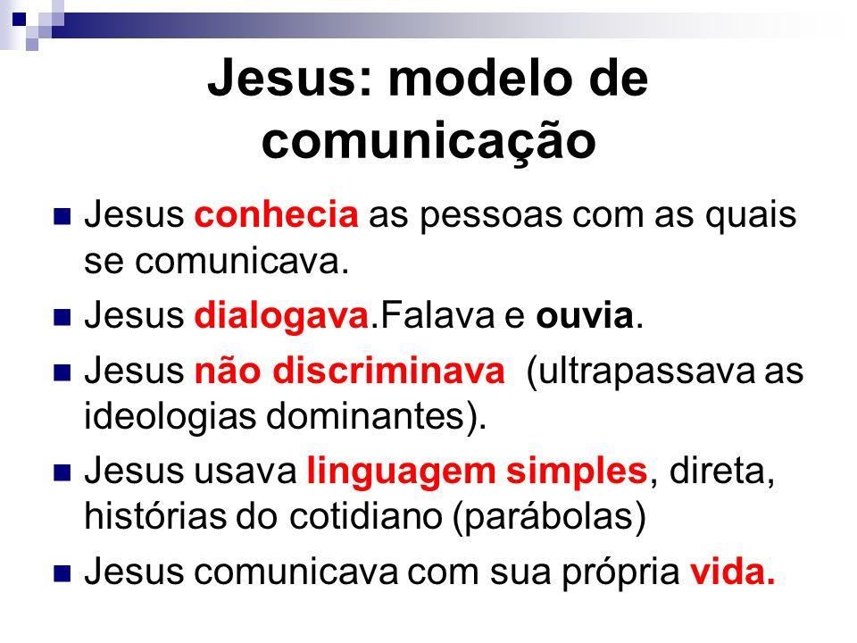 Jesus: modelo de comunicação