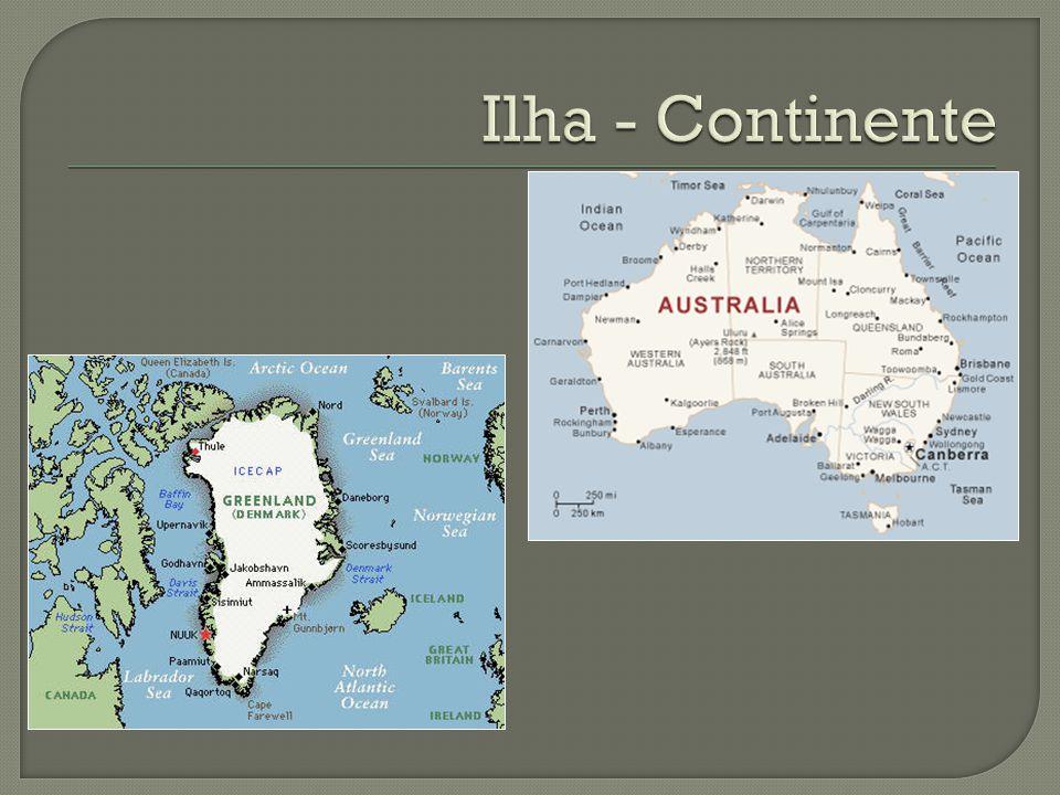 Ilha - Continente