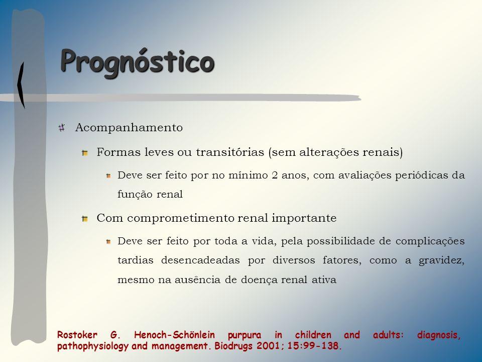 Prognóstico Acompanhamento