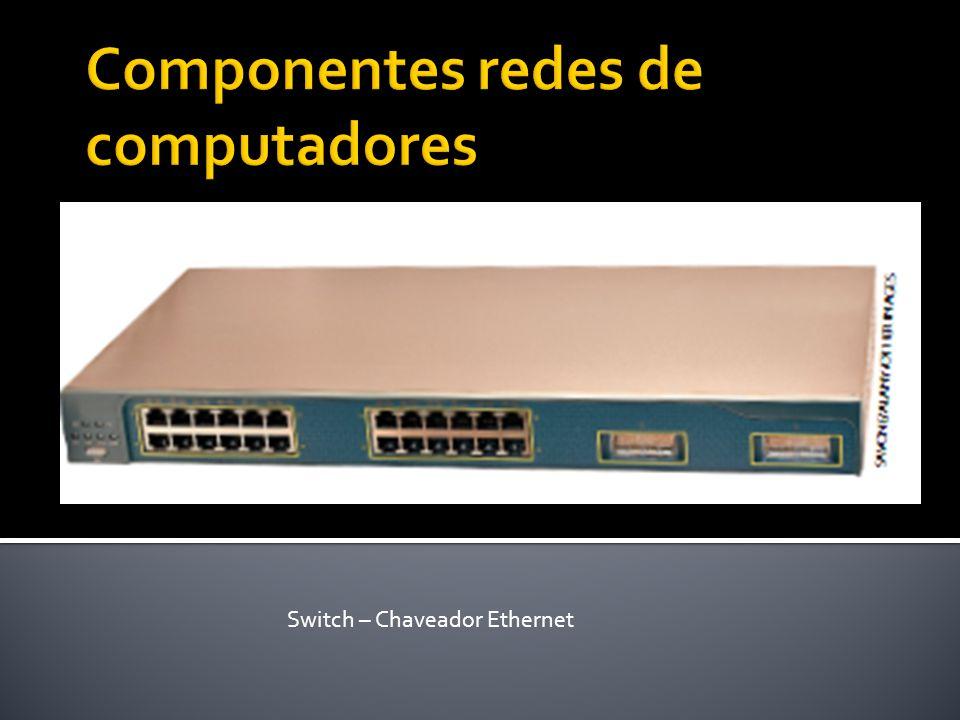 Componentes redes de computadores