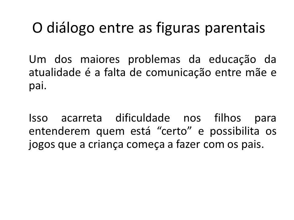 O diálogo entre as figuras parentais