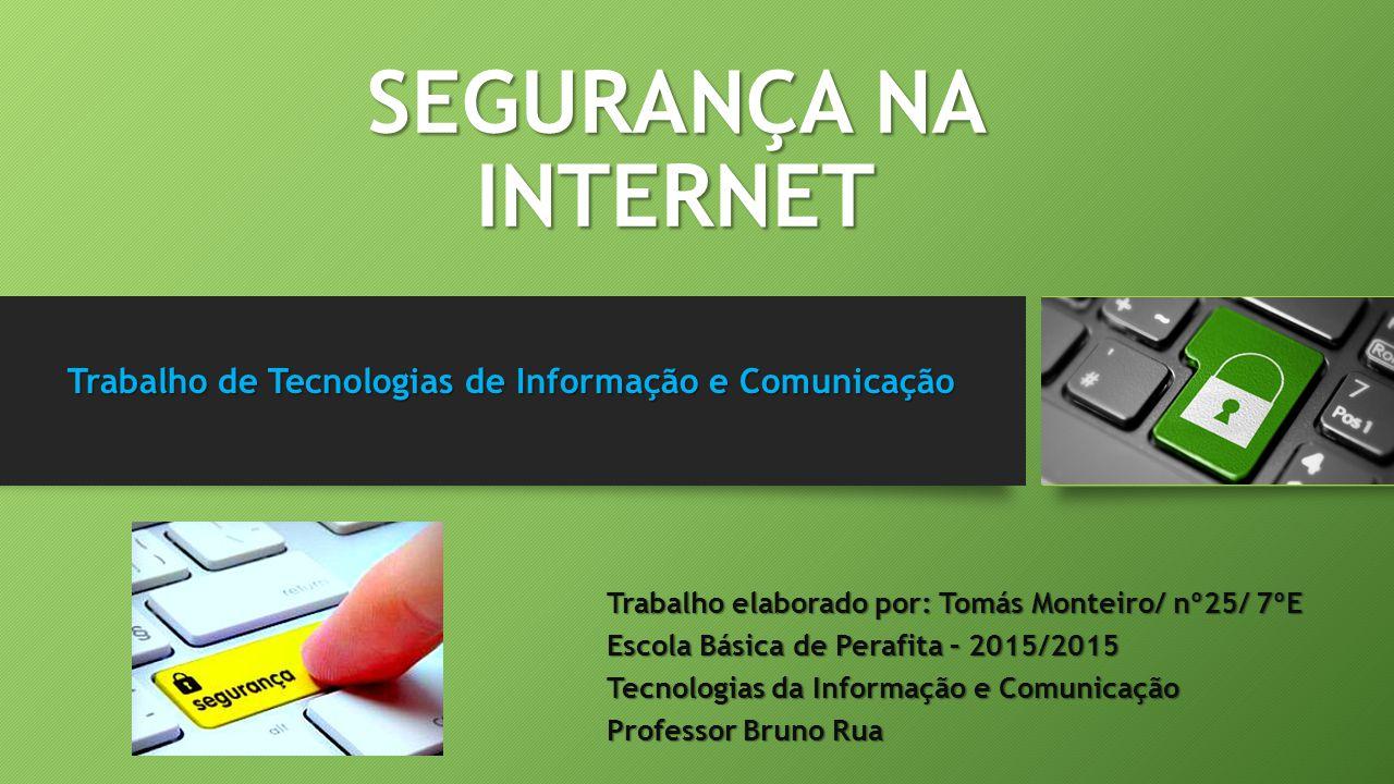 Trabalho de Tecnologias de Informação e Comunicação