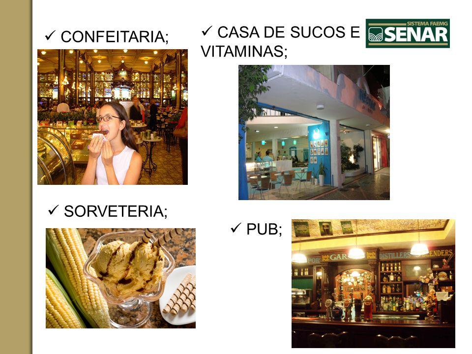  CASA DE SUCOS E VITAMINAS;