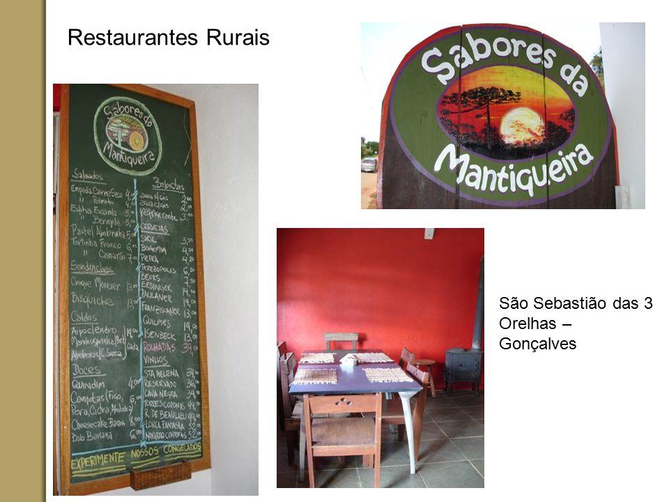 Restaurantes Rurais São Sebastião das 3 Orelhas – Gonçalves