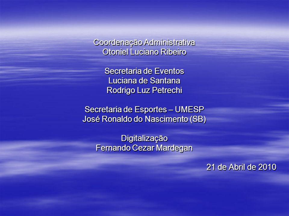 Coordenação Administrativa Otoniel Luciano Ribeiro