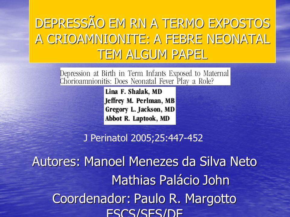 Autores: Manoel Menezes da Silva Neto Mathias Palácio John