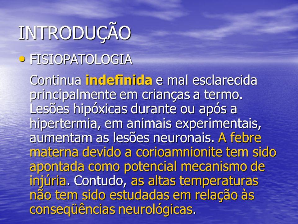 INTRODUÇÃO FISIOPATOLOGIA