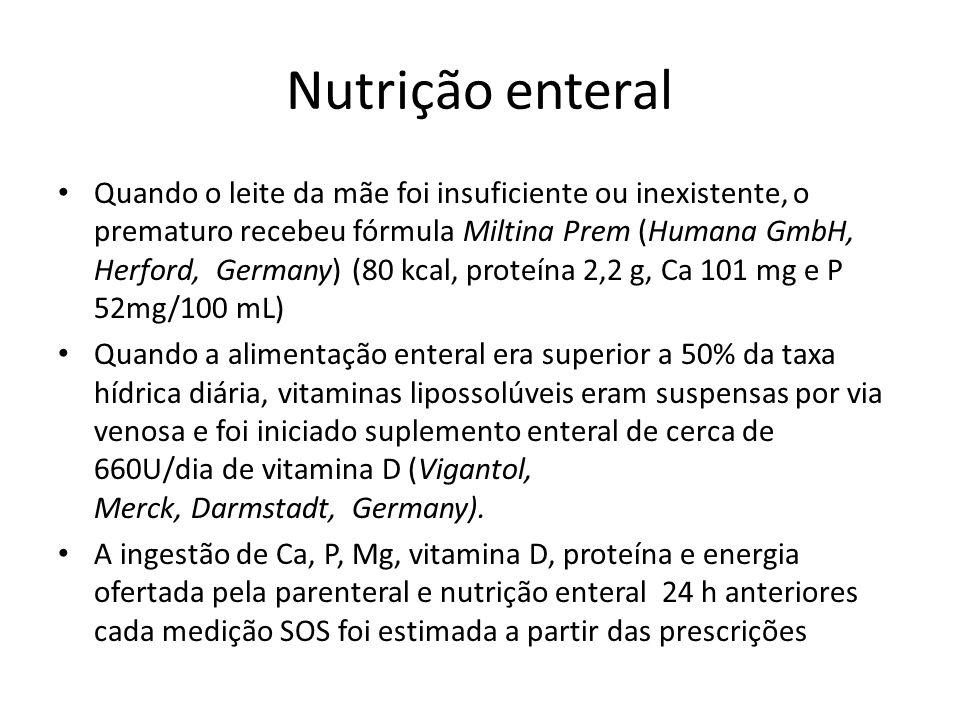Nutrição enteral