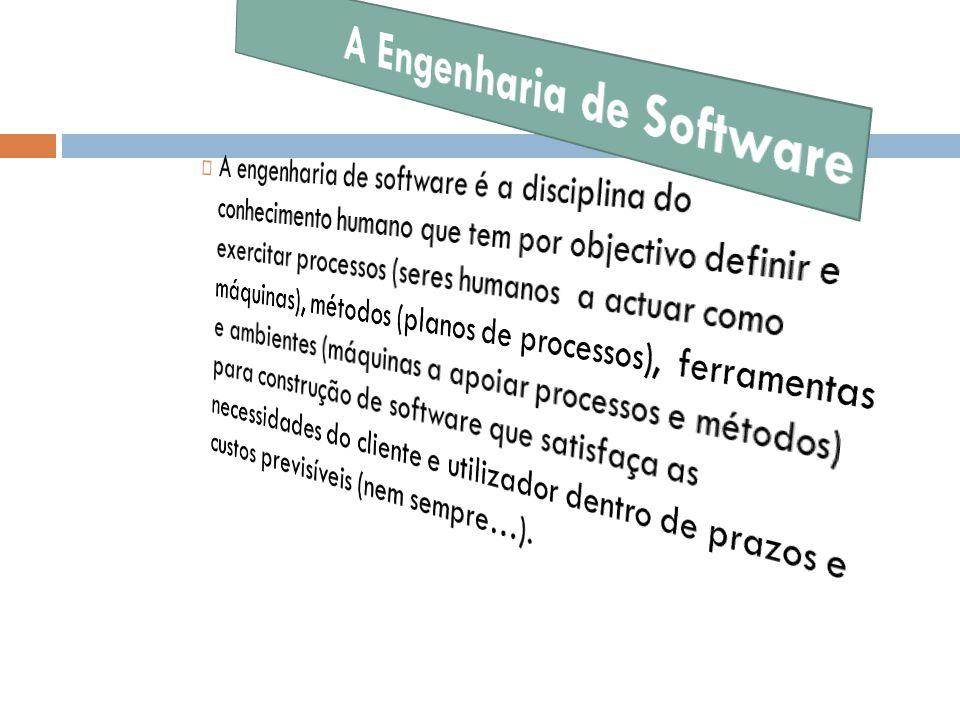 A Engenharia de Software