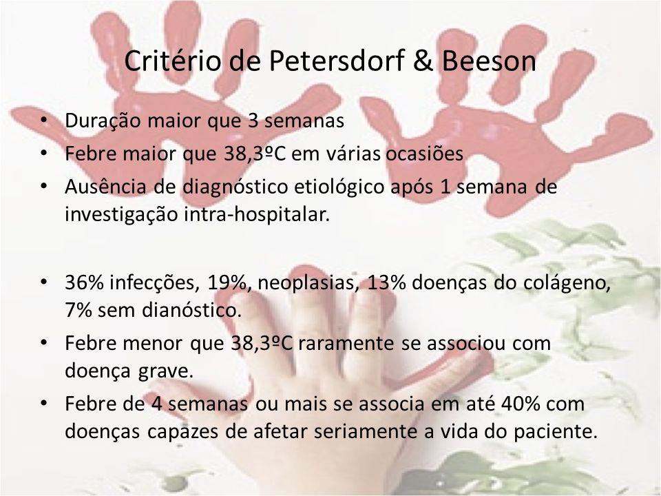 Critério de Petersdorf & Beeson