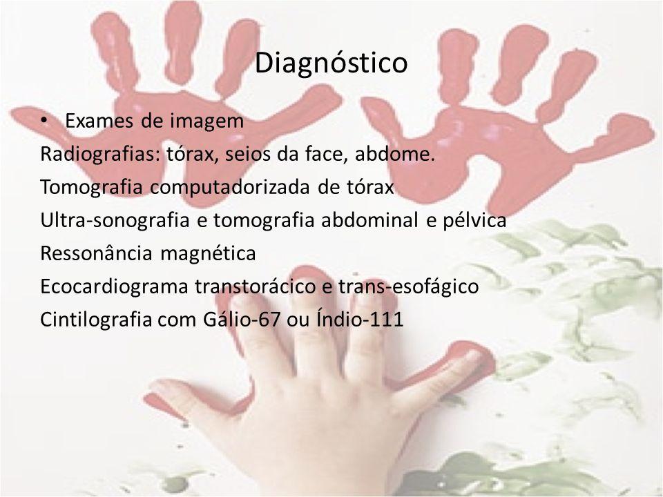Diagnóstico Exames de imagem